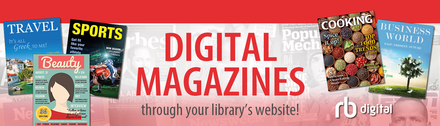 Digital magazines banner