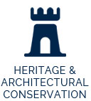 heritage and architectural conservation icon
