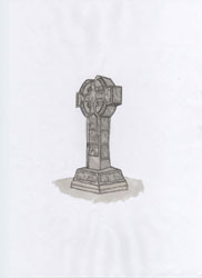 Drawing of Kells Market Cross