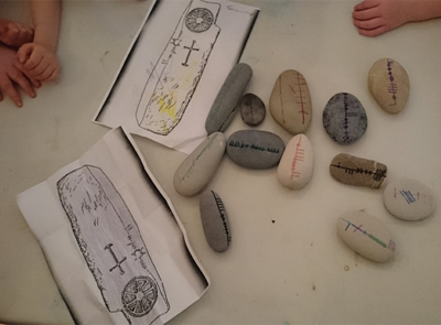 Heritage for Younger People - Ogham Workshop