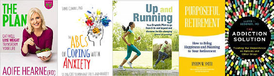 Covers of Books from the Healthy Ireland Collection: The Plan, Positive Retirement,