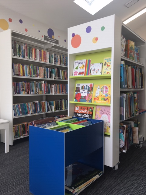 Nobber Library Junior Area