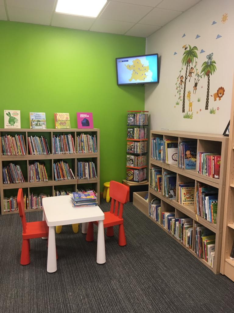 Oldcastle Library Junior Area