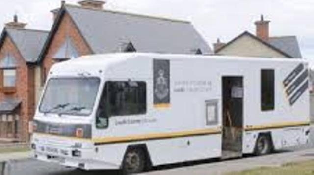 Louth County Council Mobile Library Van