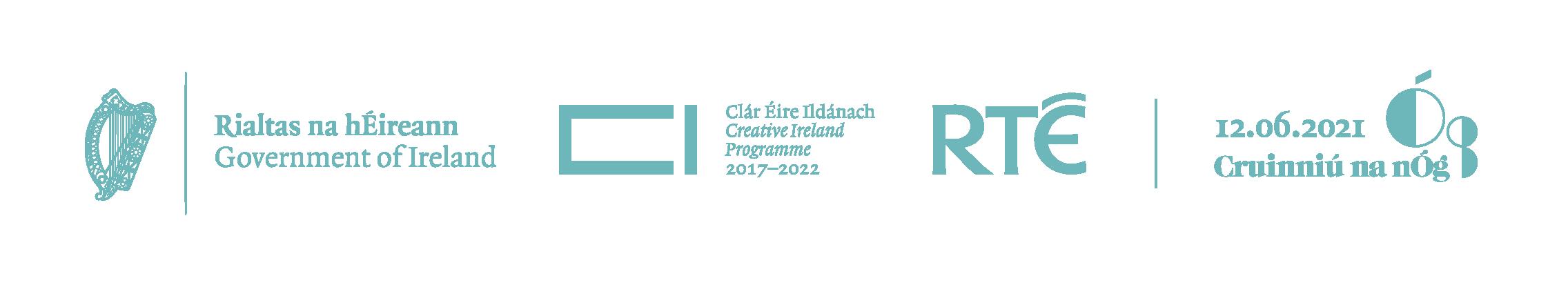 Cruinniu na nÓg Partner Logos 2021