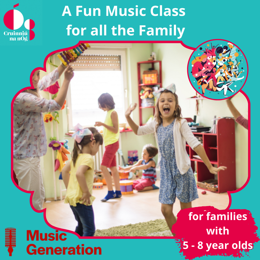 Music Generation Fun Music Class for Families of 5-8 years