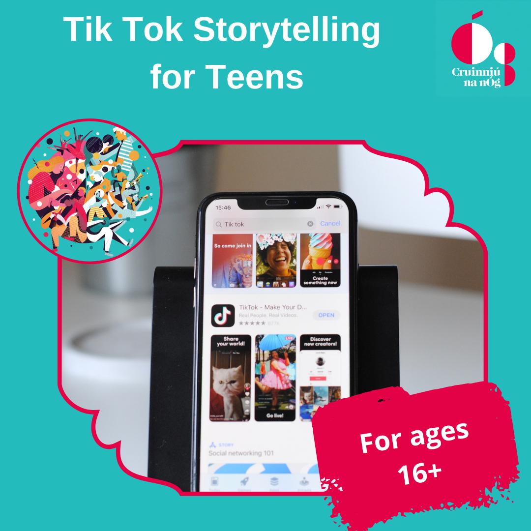 Tik Tok Storytelling for Teens