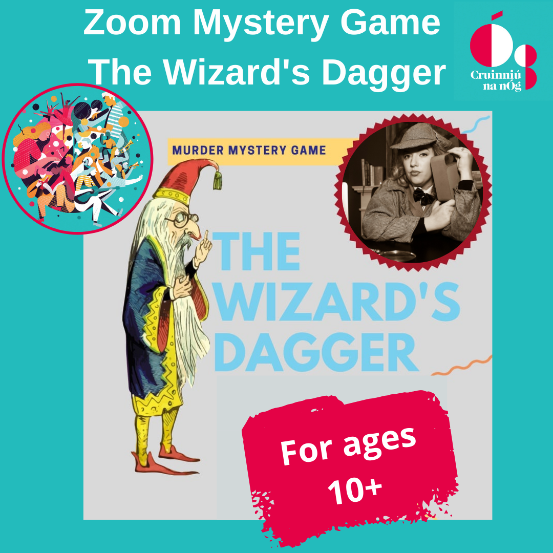Zoom Mystery Game The Wizard's Dagger