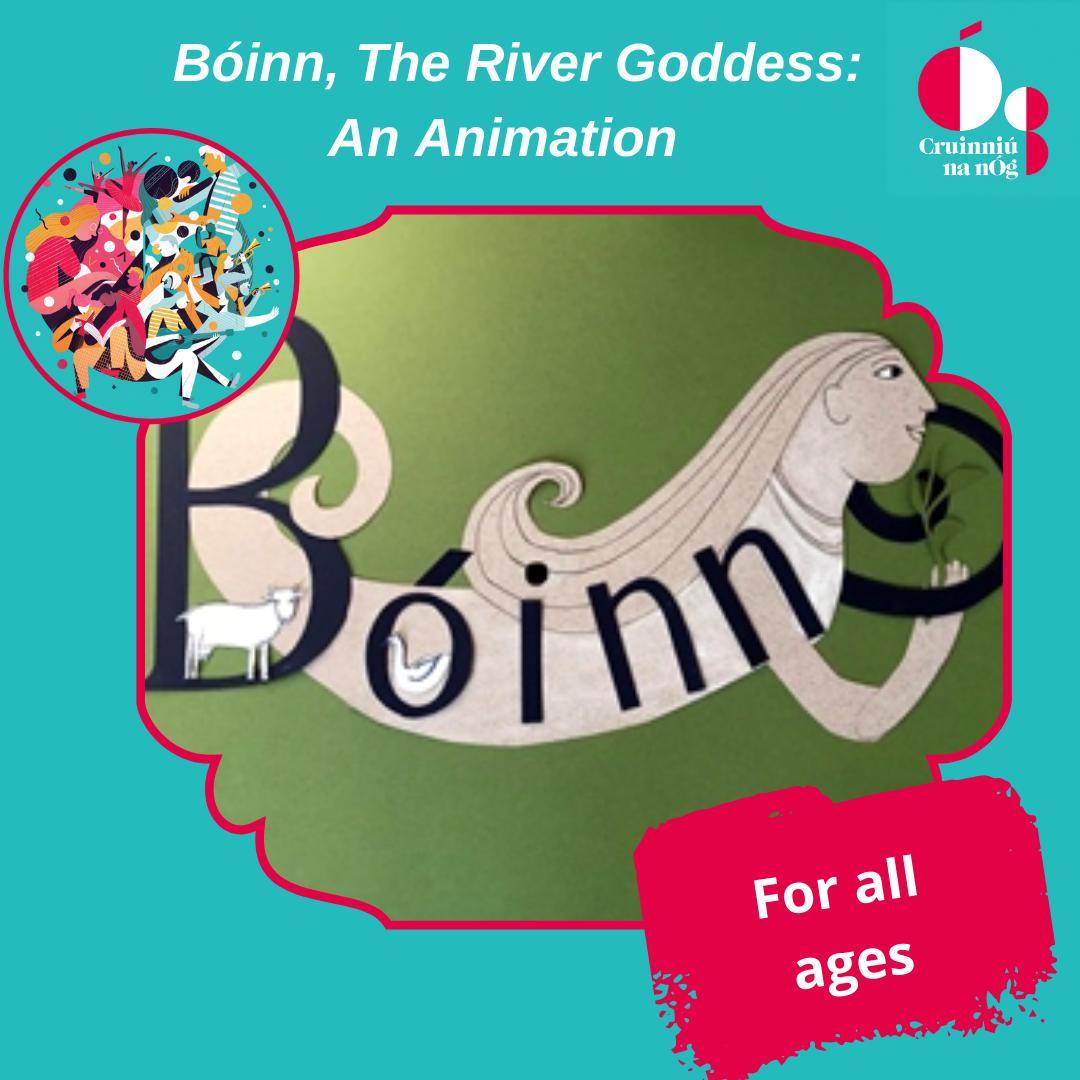 Bóinn the River Goddess Animation