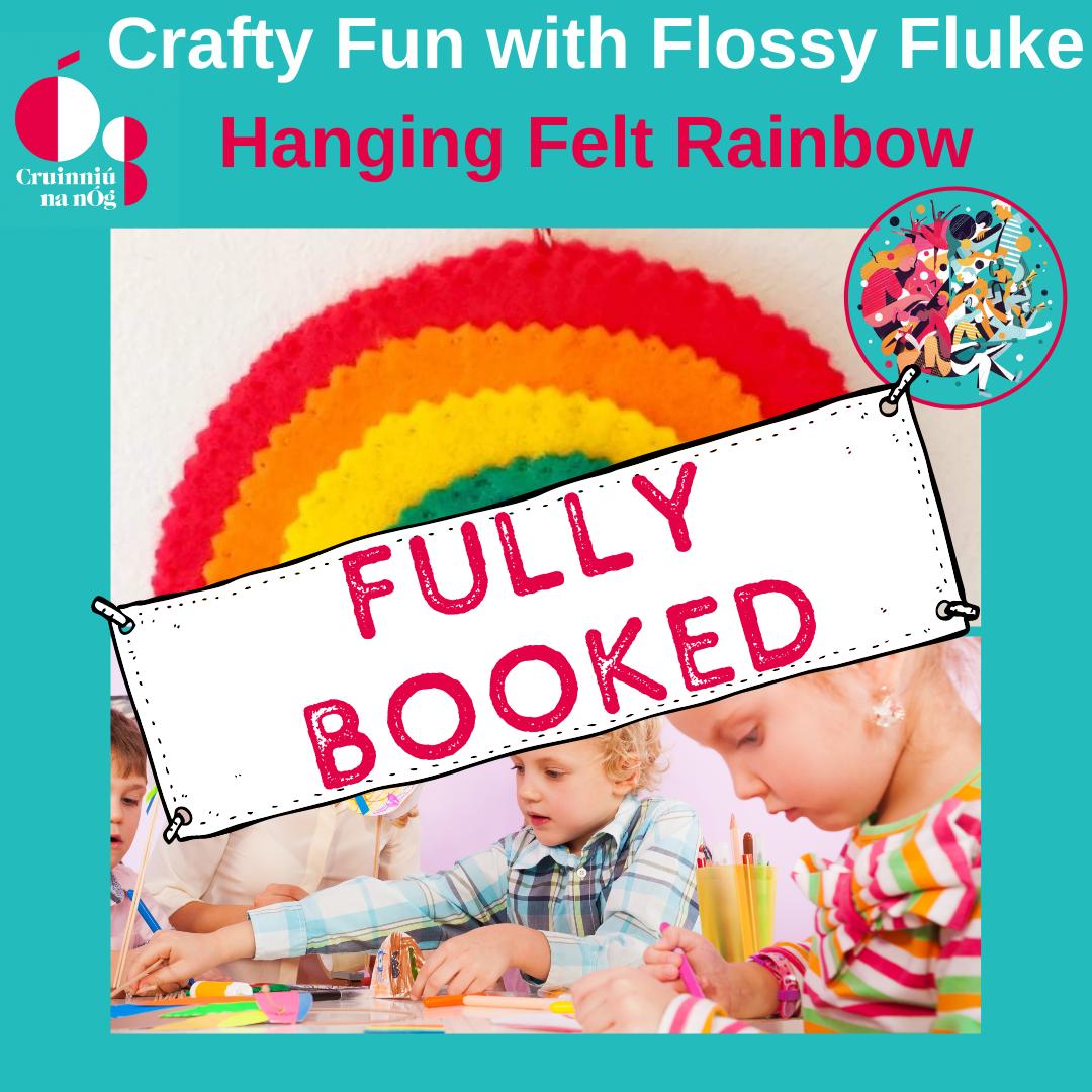 Hanging Felt Rainbow Craft Fully Booked