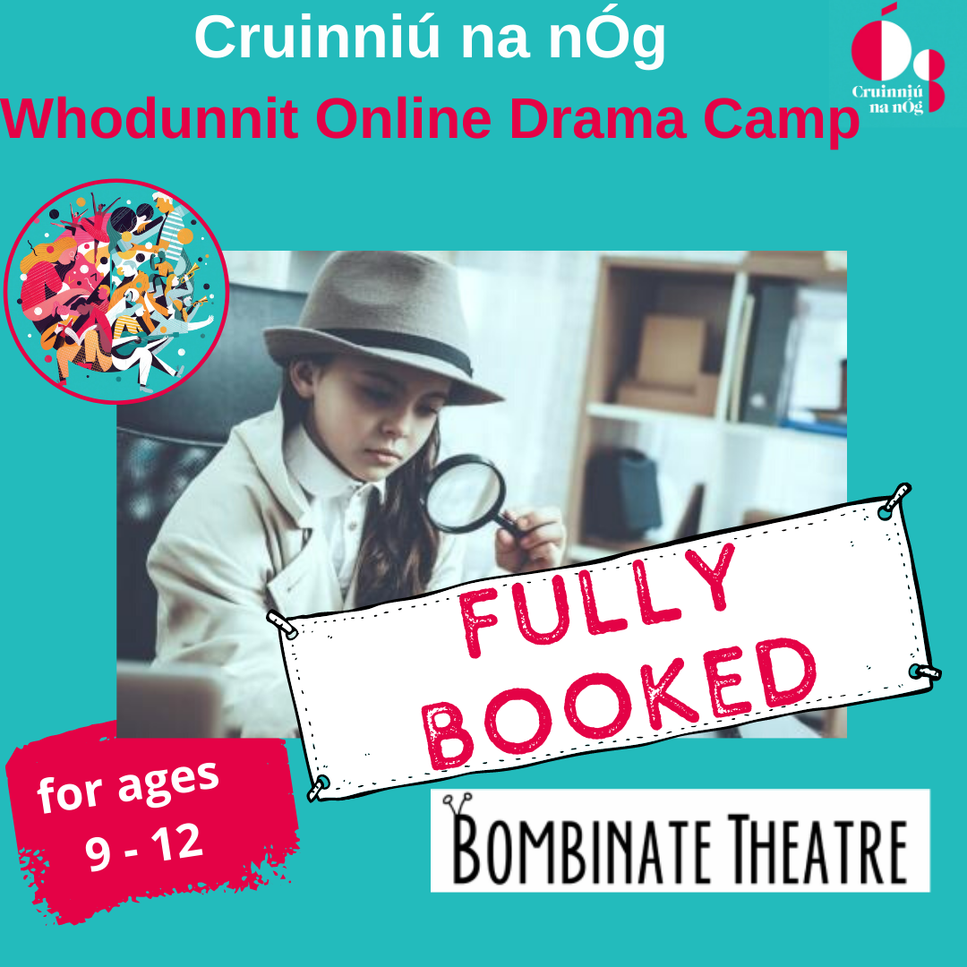 Whodunnit Online Drama Camp Fully Booked