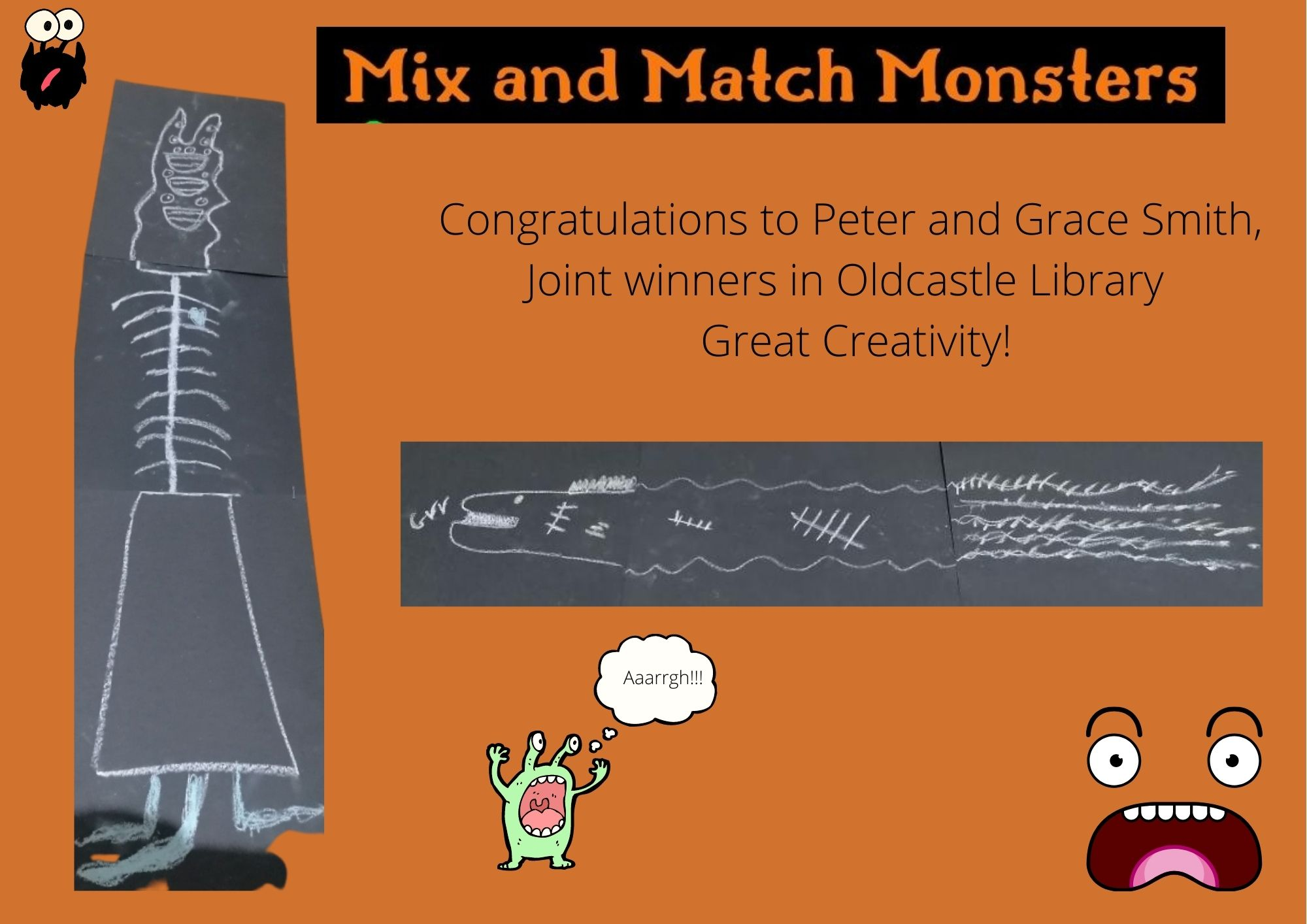 Oldcastle Winners Mix and Match Monsters