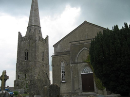 The outside of St. Columba's church, Kells, Co. Meath
