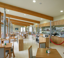 Tea Rooms at Battle of the Boyne Visitor Centre, Co. Meath