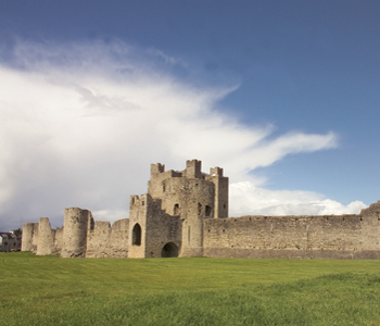Trim Castle County Meath the location for the Epic film braveheart