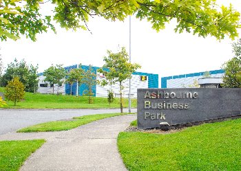 Ashbourne Business Park Entrance
