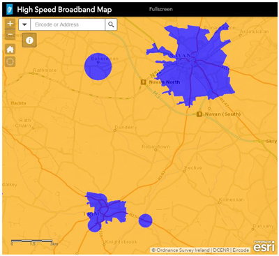 National Broadband Map Sample