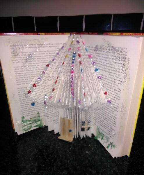 Book Up-cycling with Fiona