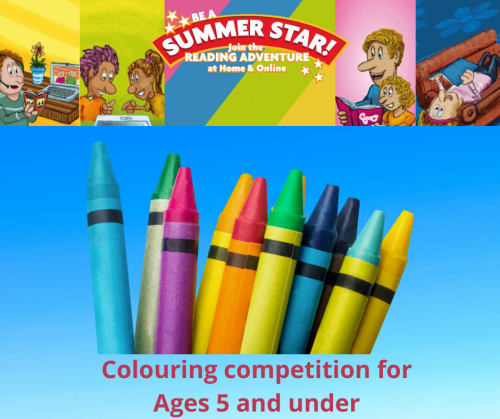 Colouring Competition ages 5 and under