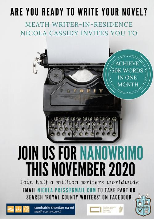 Meath NaNoWriMo Poster