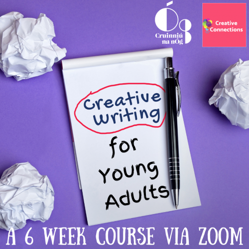 Creative Writing for Young Adults Cruinniu na nOg event