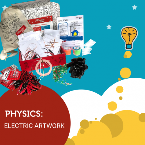 Electric Artwork Kit from The Curiosity Box