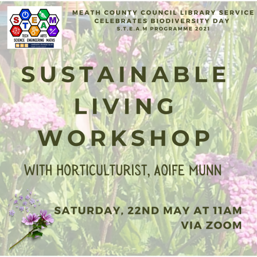 Sustainable Living Workshop for Biodiversity Day Poster