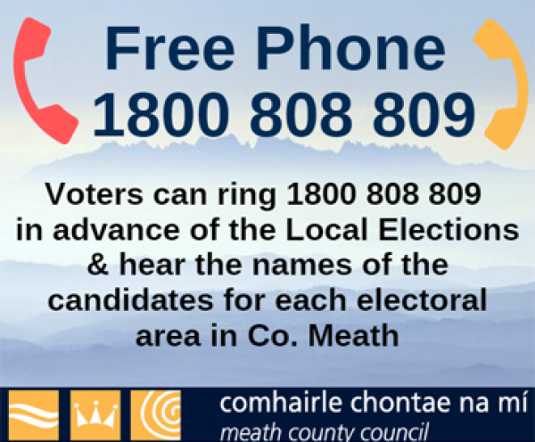 Elections 2019 free phone 1800 808 809