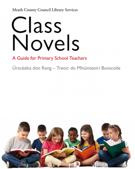 Class Novels Cover - featuring a photograph of children reading