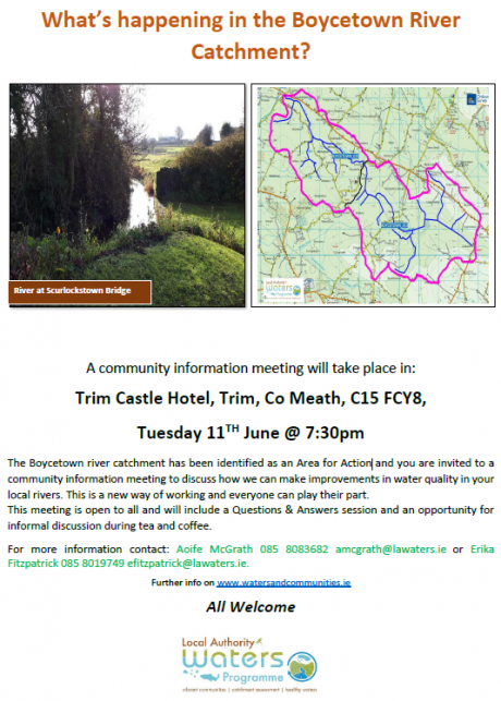 Boycetown River Catchment Community Information Meeting